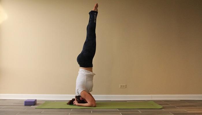Sirsasana Yoga posture