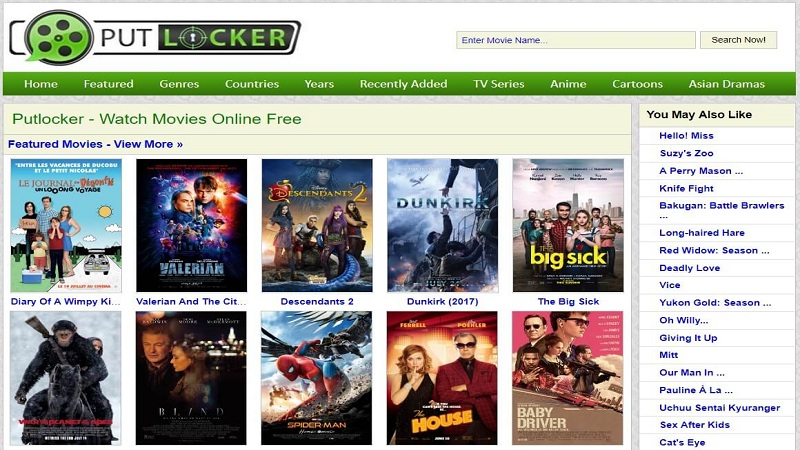 site like Putlocker
