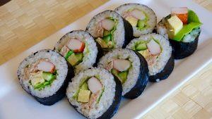 types of sushi