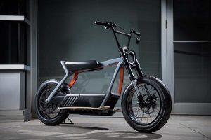 Electric Harley-Davidson bike