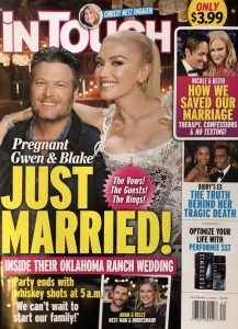 Gwen Stefani pregnant with Blake