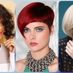 Asymmetrical bob haircuts: ideal for lengthening the face