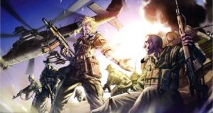 military anime