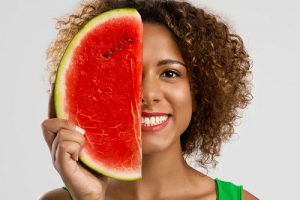 Watermelon to fight acne