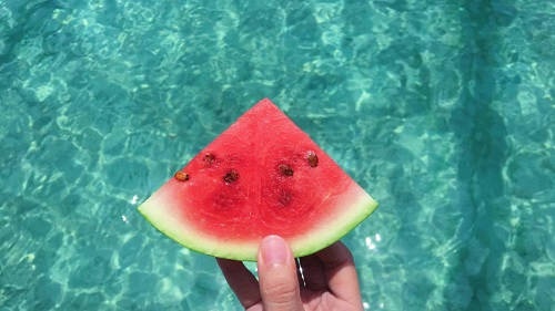 powers of Watermelon to fight acne